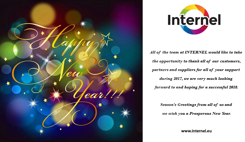 Internel wishes you a Happy New Year!